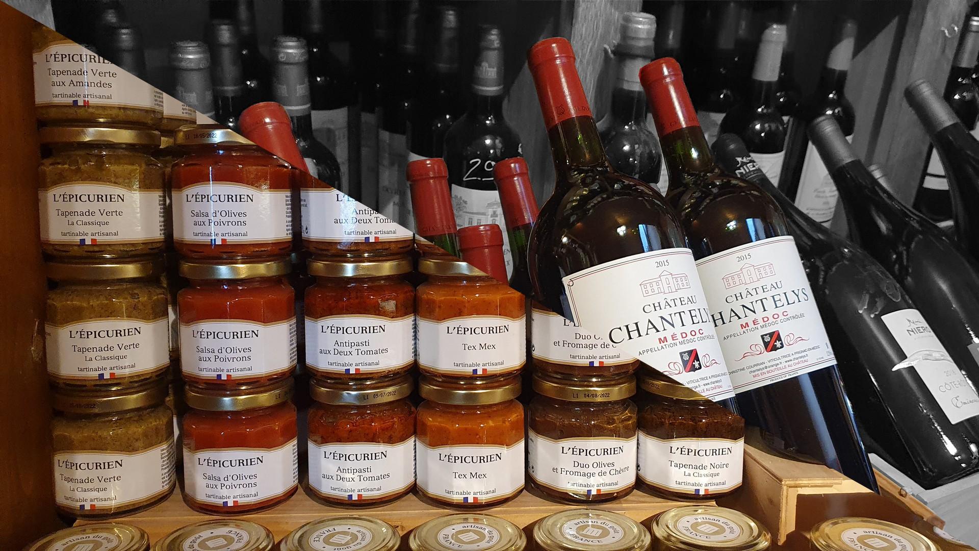 Du Vin & de l'épicerie